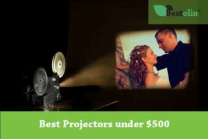 Feature image for the Best Projectors under 500 article