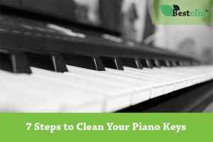 7 Steps to Clean Your Piano Keys