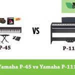 Comparison od Yamaha p-45 and p-115